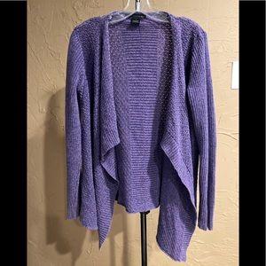 Calvin Klein Jeans Purple Sweater Large